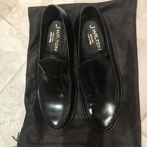 J. Wilton black leather man loafers
